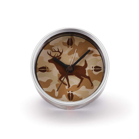 "#D3005051102 - 3.5""D CAMO CLOCK IN A CAN  -  72/CASE"
