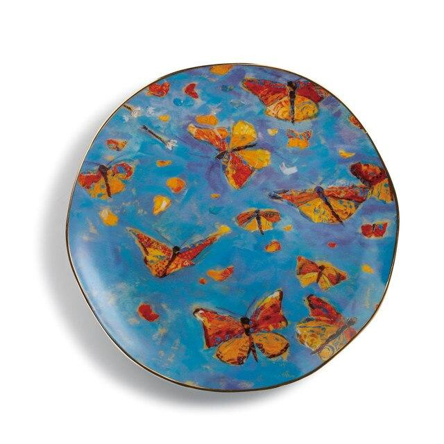 "#D3005051353 - 14""D MONARCH MIGRATION PLATTER  -  6/CASE"
