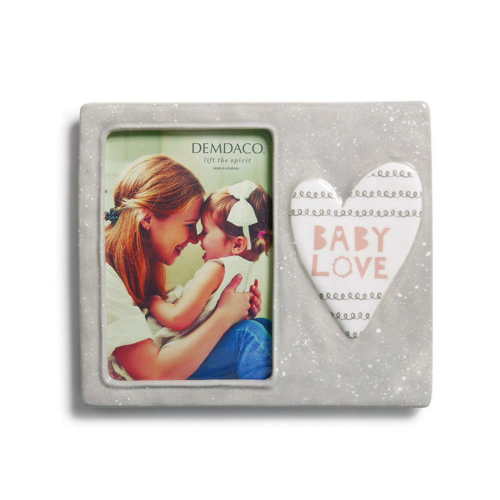 "#D5004700630 - 4X6"" BABY LOVE FRAME  -  16/CASE"