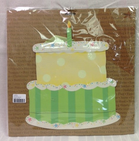 "#E00013 - EYS 12.5"" CAKE MAGNET WALL ART  -  12/CASE"
