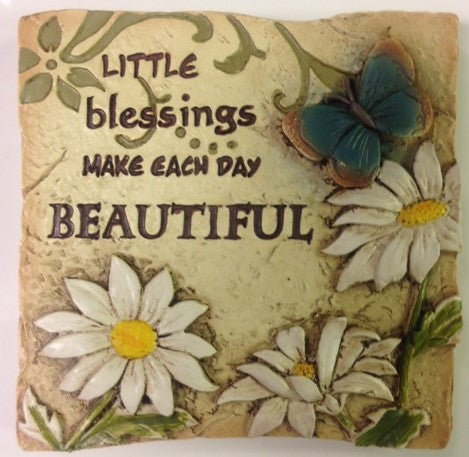 #EA7839 - BLESSINGS MAGNET-POLYSTONE  -  96/CASE