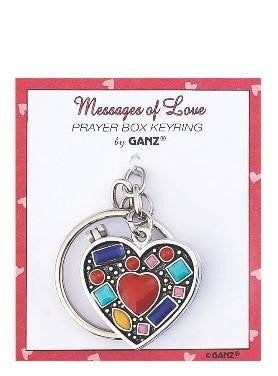 #EL8119 - PRAYER KEYRING BOX-LOSS OF A LOVED ONE  -  288/CASE
