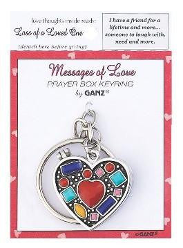 #EL8127 - PRAYER KEYRING BOX-SISTERS  -  288/CASE
