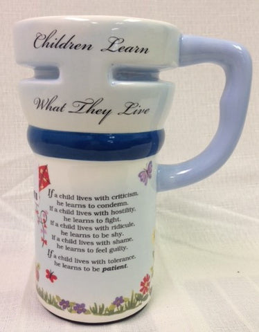 #EM9478 - CHILDREN LEARN TRAVEL MUG  -  24/CASE