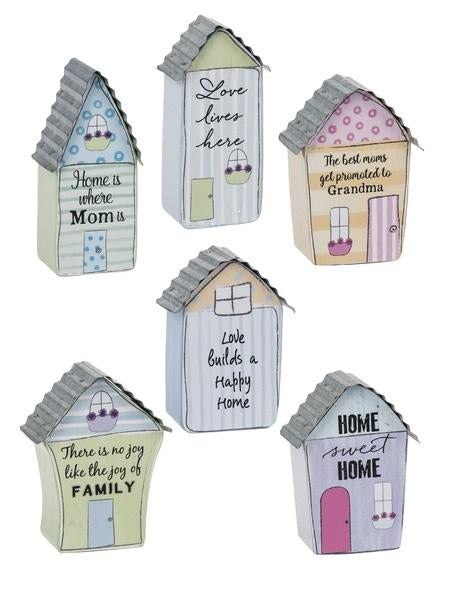 #ER58571 - HOME SWEET HOME PLAQUES  -  72/CASE
