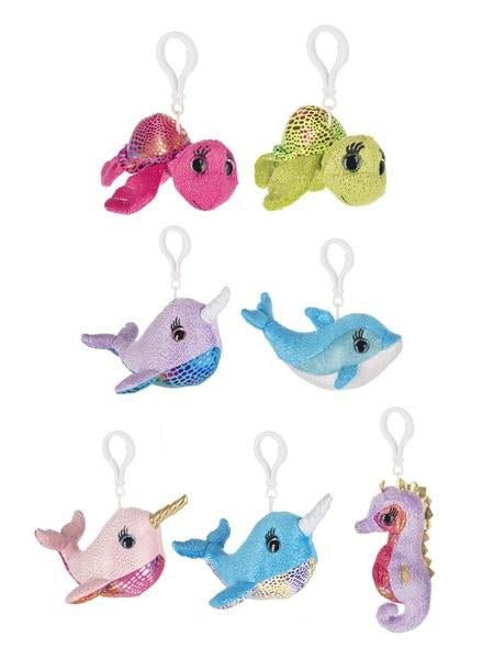 "#H14517 - 5.5""SHIMMER COVE SEA KEYCLIPS  -  288/CASE"