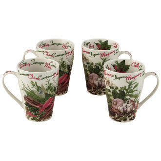 #HAS422 - 15 OZ.MUG-HERBS AND SPICES  -  32/CASE