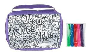 "#HE10108 - 8.5""DESIGN MY BIBLE COVER W/5 MARKERS  -  48/CASE"