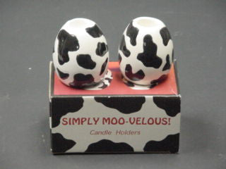 #L51635 - COW CANDLE HOLDER 2PC/SET GB  -  48/CASE