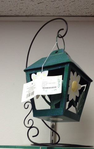 "#L71111 - 14""H METAL GARDEN LANTERNS 2AT  -  8/CASE"