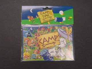 #LO7139 - CAMP POSTCARDS 6PC/PKG PBH  -  432/CASE