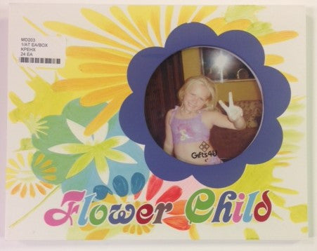 "#MD203 - 4"" FLOWER CHILD FRAME  -  24/CASE"