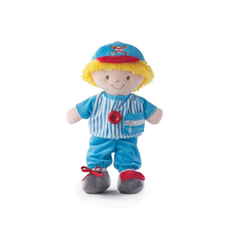 "#P00298 - 15"" SEAN BASEBALL PLAYER ACTIVITY DOLL  -  18/CASE"