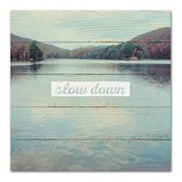 "#SCE1006 - 10"" X 10""PLAQUE SLOW DOWN  -  16/CASE"