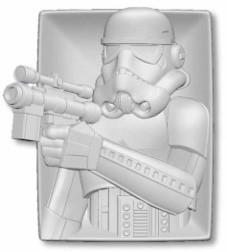 "#SHP4075 - 4.8""X6"" STORMTROOPER CER.TRAY  -  40/CASE"