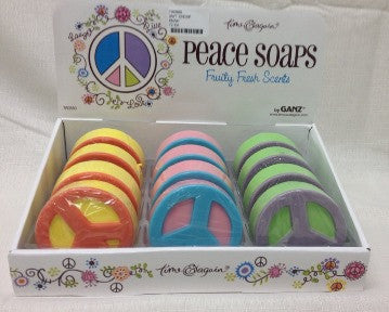 #TA0880 - PEACE SOAPS 3AT  -  72/CASE
