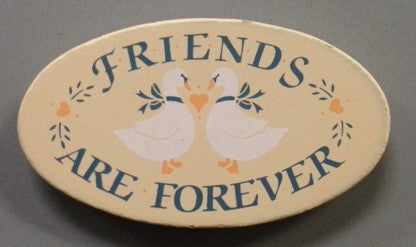 #WO8925 - COUNTRY WOOD MAGNET-WHEN FRNDS  -  288/CASE
