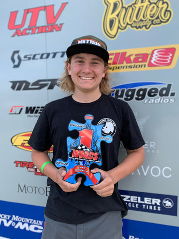Casey Sims 1st Place WORCS Racing