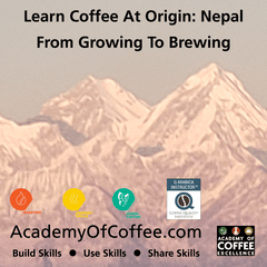 Roasting Cupping Green Coffee Training Nepal
