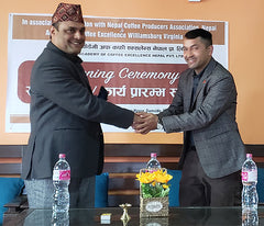Deepak Khanal and Santosh Pokharal