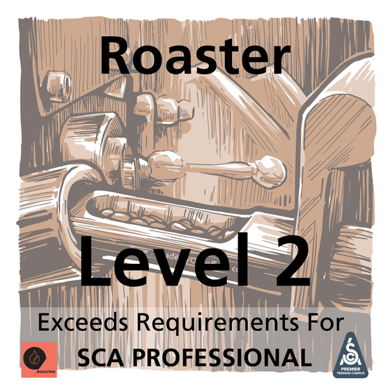 Roaster - Level 2 Advanced Skills Application (SCA Professional Plus)