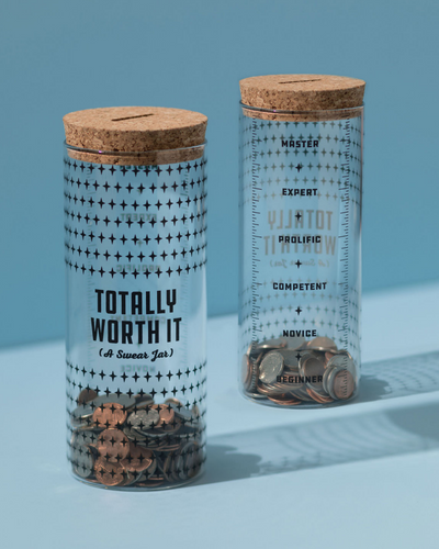 Totally Worth It Swear Jar Gift
