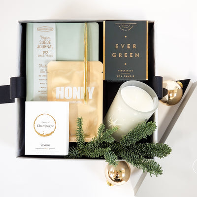 Minted Holiday Gift Box