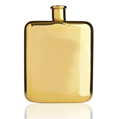 14k Gold Flask Gift.