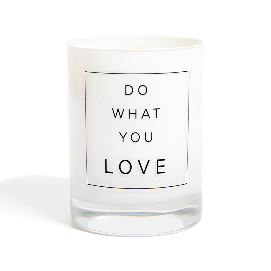 Do What You Love - Candle