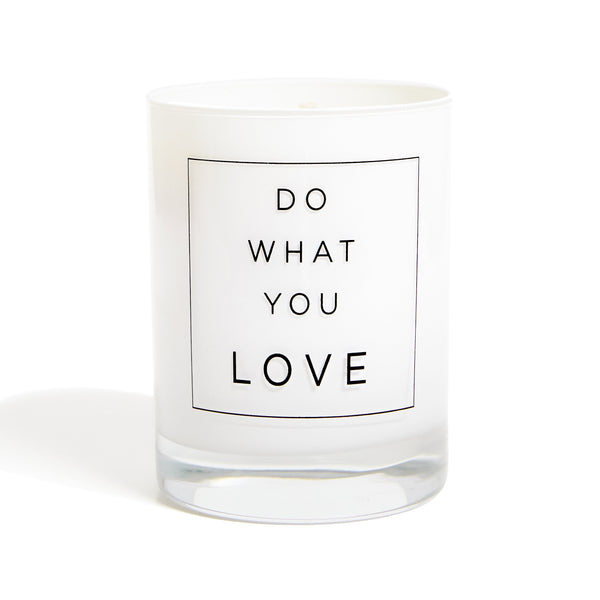 Modern quote candle. Candle gift with quote on it. Keepsake gift.