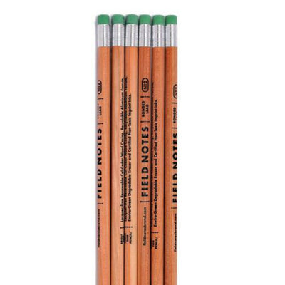 With lacquer-free renewable wood casing, recyclable aluminum ferrule, enviro-green degradable eraser and certified non-toxic imprint inks, these pencils are proof that men deserve cool pencils too.