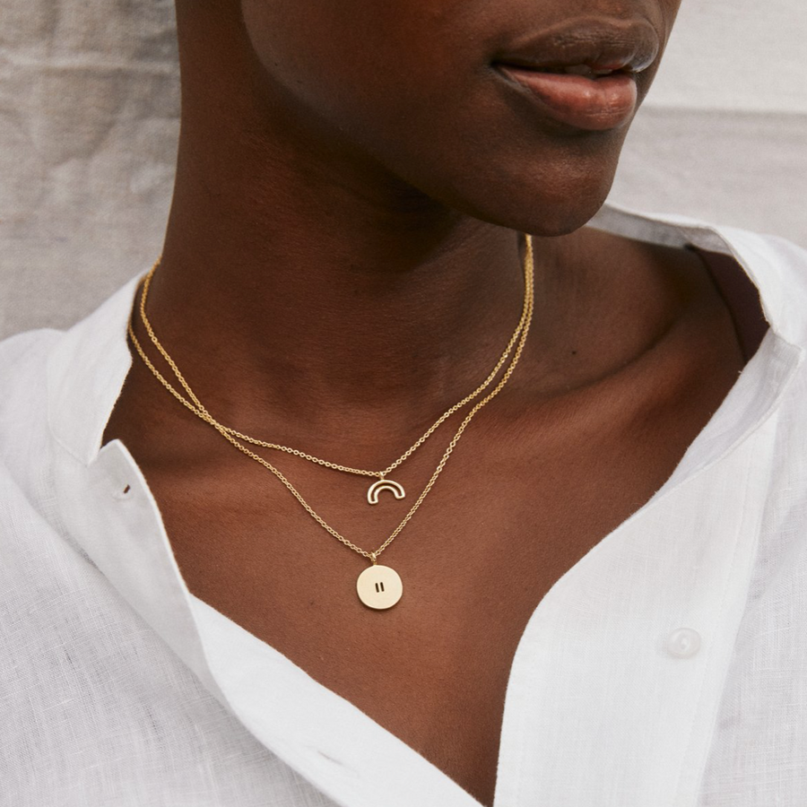 Bryan Anthonys | Pause Necklace, Gold