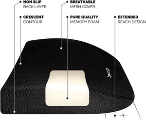 Cush Comfort Lumbar Pillow for Back Pain