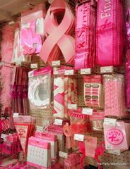 Breast Cancer Awareness supplies