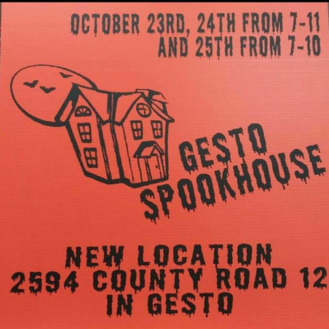 The Gesto Spookhouse
