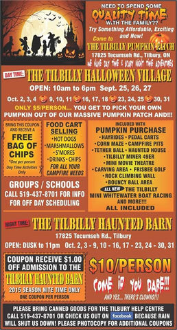 The Tilbilly Haunted Barn