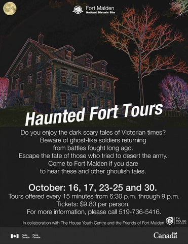 Haunted Fort Tours - Fort Malden