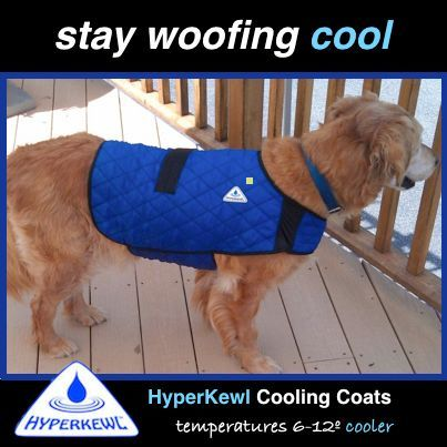 HyperKewl™ Evaporative Cooling Dog Coat -