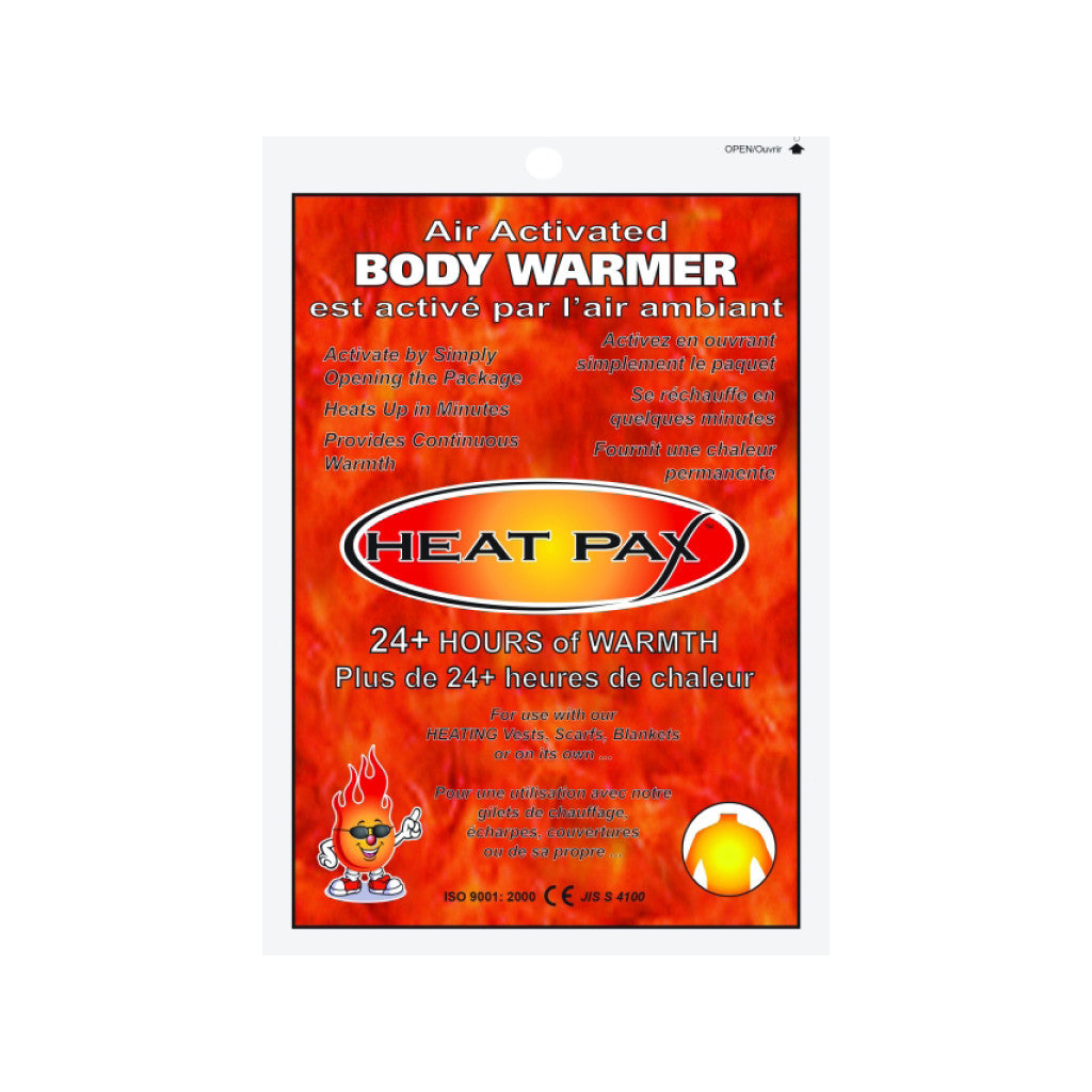 Heat Pax™ Air Activated Body Warmer
