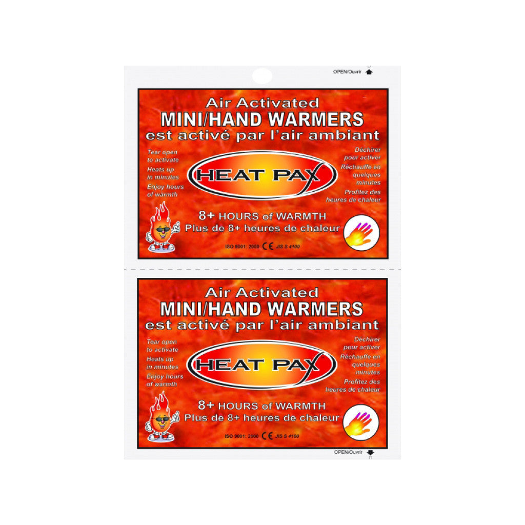 Air-activated Mini/Hand Warmers