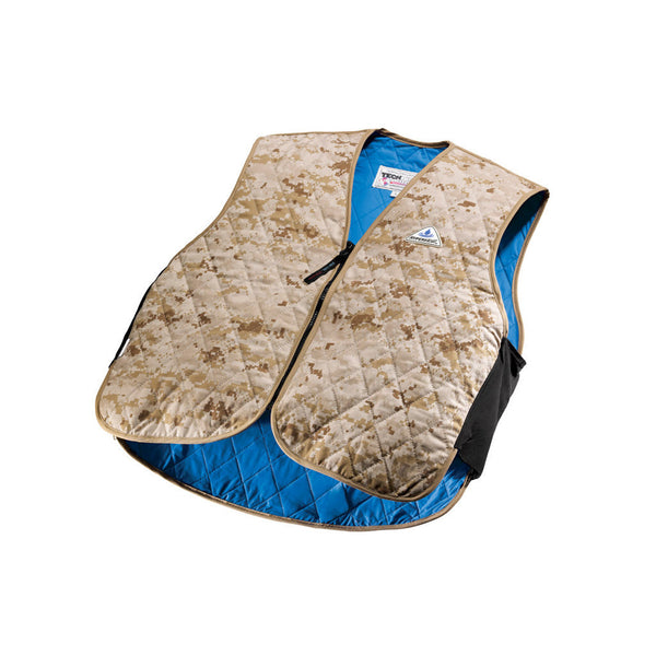 HyperKewl™ Evaporative Cooling Vest - Military Sport - Marine Desert Digital
