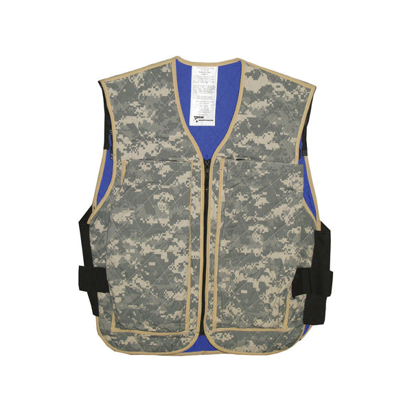 Hybrid military cooling vest - Army ACU Digital