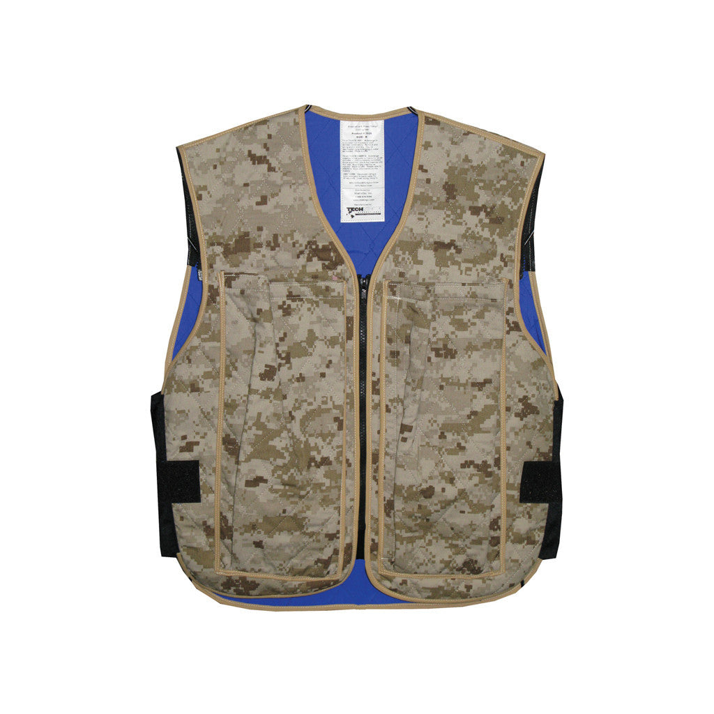 Hybrid military cooling vest - Military Desert Digital
