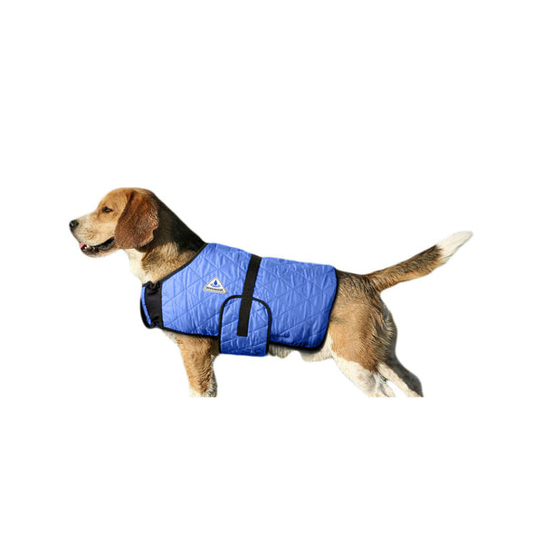 HyperKewl™ evaporative cooling dog coat in blue