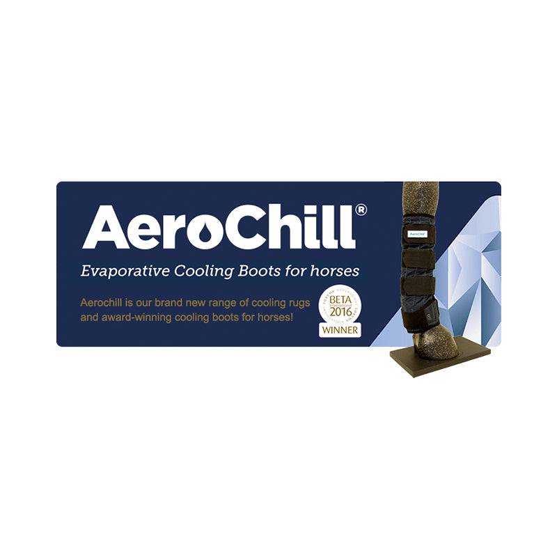 AeroChill Evaporative Horse Cooling Boots