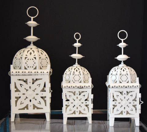 Moroccan Lantern - set of 3