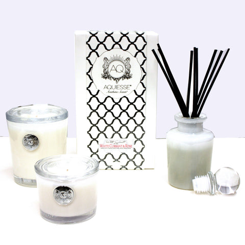 Aquiesse White Currant and Rose Collection