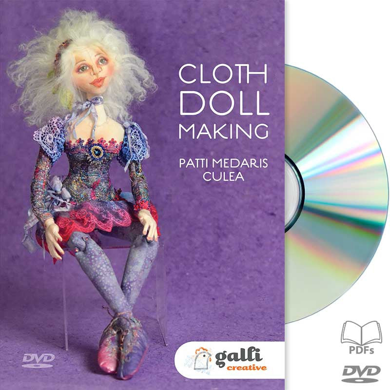 """Cloth Doll Making"" DVD Workshop - Available now!"
