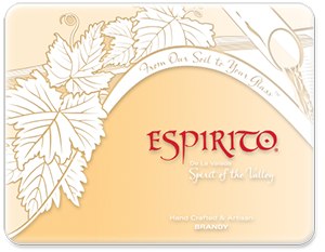 Espirito Biodynamic® Brandy - Single Bottle (CA Residents Only)