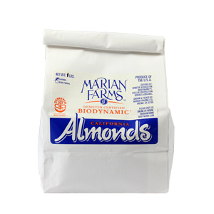 Box of 4 x 1lbs Whole Almonds